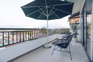 A balcony or terrace at TTR Studio