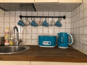 Kuchnia lub aneks kuchenny w obiekcie Szeroka Street broadway studio 7
