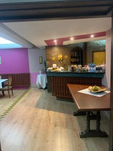 Restauracja lub miejsce do jedzenia w obiekcie Hotelik