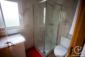 A bathroom at Casas do Picoutinho