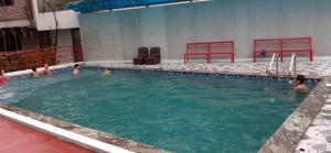 The swimming pool at or near Anh Dao Hotel