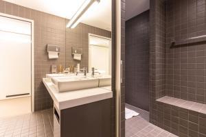 Ein Badezimmer in der Unterkunft Hotel & Lounge by Hyve Basel SBB