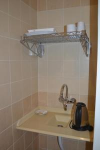 Um banheiro em Waqf Al Sherbiny 3