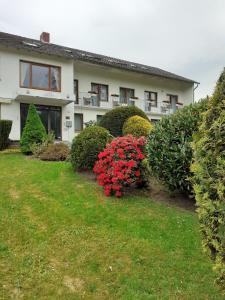 A garden outside Haus Leifert