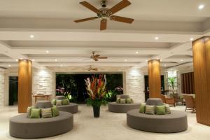 The lobby or reception area at Grand Whiz Hotel Nusa Dua Bali