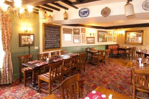 A restaurant or other place to eat at The George & Horn near Newbury