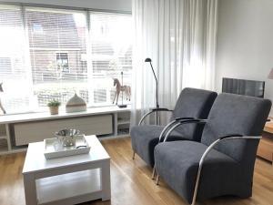 A seating area at Vakantiehuis uus Klinte Hindeloopen