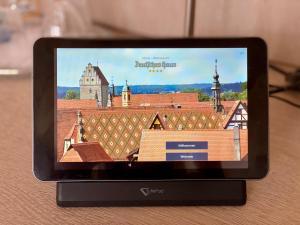 TV o dispositivi per l'intrattenimento presso Hotel Deutsches Haus