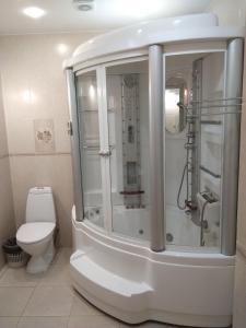 Ванная комната в Отель Аквамарин