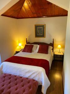 Cama ou camas em um quarto em Park Hotel Mantiqueira
