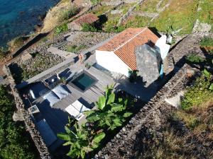 Een luchtfoto van Vigia da Areia