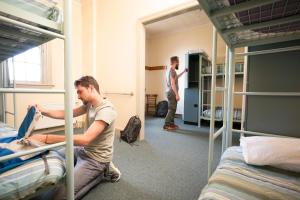 A bunk bed or bunk beds in a room at Blue Mountains YHA