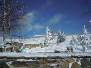 L'établissement Le Francillon en hiver