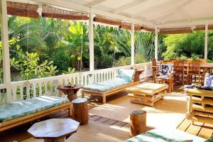 A piscina localizada em Villa Iris ou nos arredores