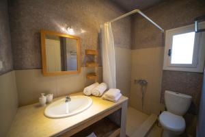 Ένα μπάνιο στο Lefki Villas