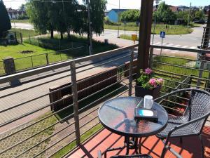 Balkon lub taras w obiekcie Apartament Vacanza