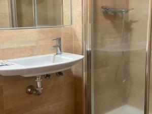 A bathroom at Hotel Labrador