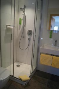Ein Badezimmer in der Unterkunft Landhotel Schellenberg