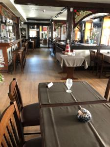 A restaurant or other place to eat at Gasthof zum Falken