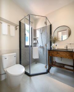Phòng tắm tại La Em Boutique Villa