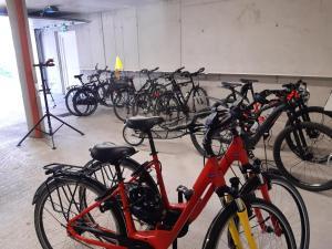 Radfahren an der Unterkunft Hotel Hubertusstube oder in der Nähe