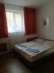 Postel nebo postele na pokoji v ubytování Penzion U Radů