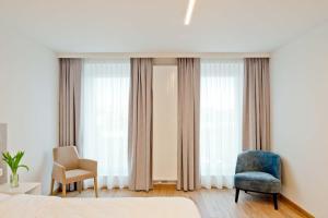 Een zitgedeelte bij Hotel Den Briel