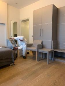 Гостиная зона в Hotel Di Varese