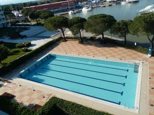 A view of the pool at Karina or nearby