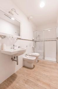 A bathroom at Affittacamere Casa Dane'