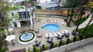 Вид на бассейн в Туристический комплекс АндриаНова или окрестностях