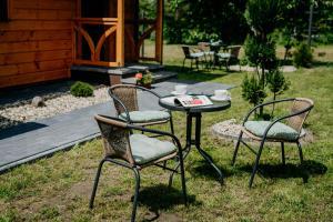 Ogród w obiekcie Piękne Roztocze