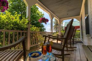 A balcony or terrace at Maple Hill Farm Inn