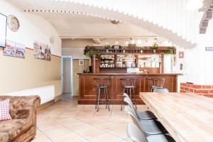 Lounge oder Bar in der Unterkunft Casa BARvaria
