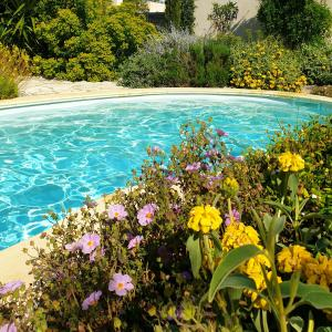 The swimming pool at or close to Bastide Philomen