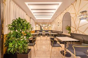En restaurang eller annat matställe på Hotel Claude Marbella