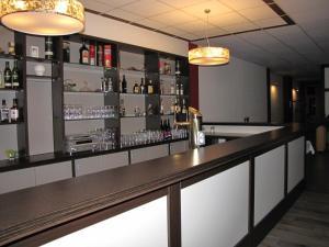 Lounge oder Bar in der Unterkunft Hotel Stadt Wittstock