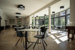 Een restaurant of ander eetgelegenheid bij Hotel Kasteel Solhof