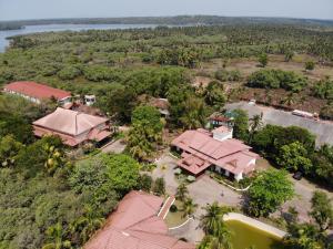 A bird's-eye view of Kairali Heritage Resort