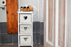 A bathroom at Residenza Al Castello