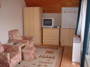 Kuchyň nebo kuchyňský kout v ubytování Apartman Hévíz Holiday