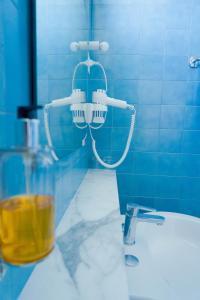 A bathroom at Hotel Mistral