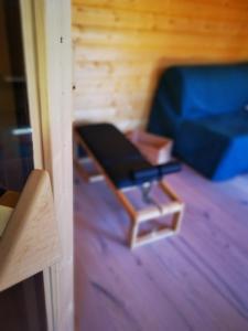 TV/Unterhaltungsangebot in der Unterkunft Holzhaus mit Sauna nahe Schloss Neuschwanstein