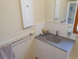 A kitchen or kitchenette at Annies Holiday Units