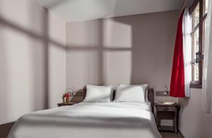 Cama ou camas em um quarto em All Blue