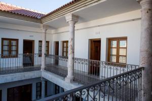 Un balcón o terraza de Hotel Rural Sisapo