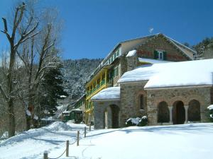 Hotel Adsera during the winter