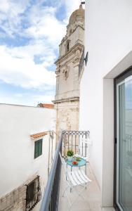 A balcony or terrace at Al Castello Relais