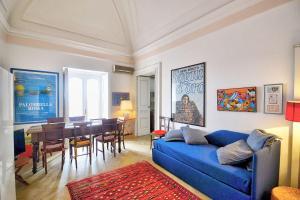 Area soggiorno di Positano Villa Sleeps 4 Air Con WiFi