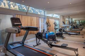 Het fitnesscentrum en/of fitnessfaciliteiten van The Marly